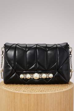 Miu Miu Cristal GM leather bag
