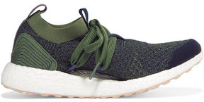 adidas by Stella McCartney Parley For The Oceans Ultraboost X Primeknit Sneakers - Midnight blue