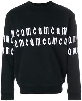McQ scrolling logo sweatshirt
