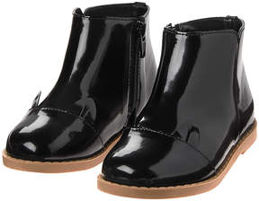 Gymboree Black Patent Cat Ankle Boot - Infant & Toddler