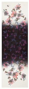 St. John Ombre Naveena Floral Print Silk Georgette Scarf
