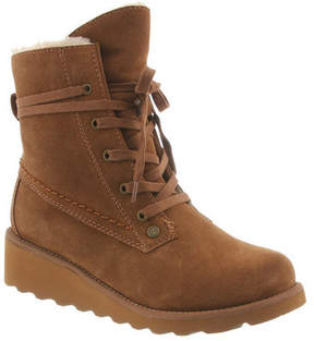 BearPaw Women's Krista Lace-Up Ankle Boot