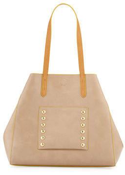 Neiman Marcus Great Pocket Shoulder Tote Bag