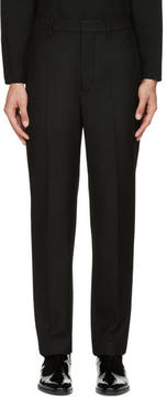 Lemaire Black Suit Trousers