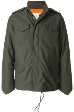 Alpha Industries padded zip pull coat