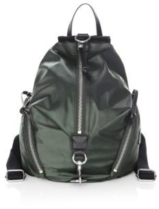 Rebecca Minkoff Julian Zip Backpack - ARMY GREEN - STYLE