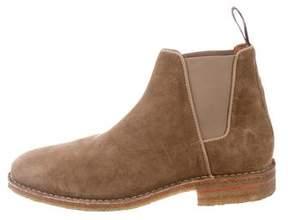 Aquatalia Suede Chelsea Boots