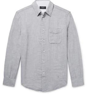 Rag & Bone Beach Slim-Fit Slub Cotton Shirt
