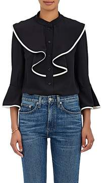 Chloé Women's Ruffle Silk Blouse