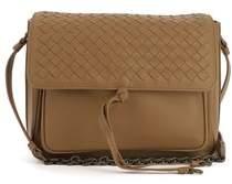 Bottega Veneta Women's Brown Leather Shoulder Bag.