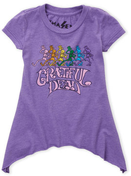 Chaser Toddler Girls) Asymmetrical Grateful Dead Graphic Tee