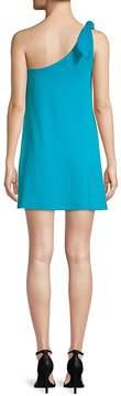 Susana Monaco Women's Self-Tie One-Shoulder Mini Dress