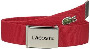 Lacoste 40mm Woven Strap Belt Men's Belts
