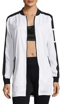 Blanc Noir Women's Boyfriend Bomber Jacket