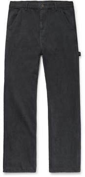 Simon Miller Joshua Wide-Leg Cotton-Twill Trousers