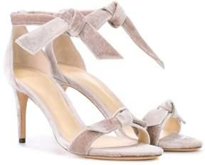 Alexandre Birman New Clarita Midi velvet sandals