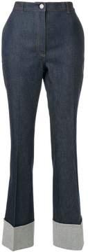 Bottega Veneta cropped ankle jeans