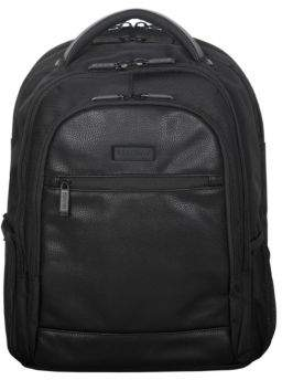 Kenneth Cole Reaction Leather-Trimmed Nylon Backpack