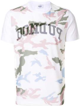 Dondup camouflage print T-shirt