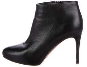 Rupert Sanderson Platform Leather Booties
