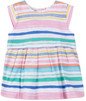 Jean Bourget Jersey Ray Striped Dress