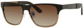 Safilo USA Polaroid X 4414 Polarized Rectangle Sunglasses
