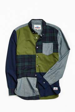 Penfield Crowley Patchwork Button-Down Shirt