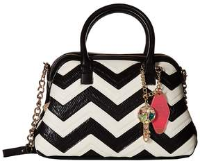 Betsey Johnson Suite Life Dome Satchel Satchel Handbags