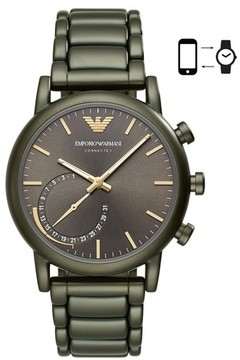 Emporio Armani Connected Hybrid Bracelet Smartwatch, 43Mm
