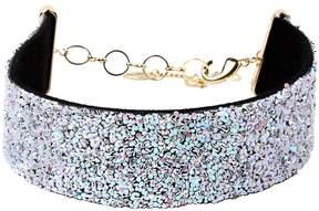 Amrita Singh White Crystal Havana Choker Necklace