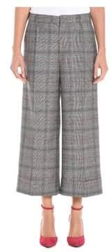 Berwich Women's Grey Wool Pants.