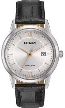 Citizen Eco-Drive AW1236-03A Silver Dial Watch