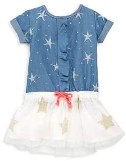 Billieblush Baby's& Toddler's Tulle Star-Print Dress