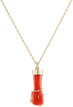 Finn Women's Figa Fist Necklace