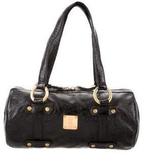 MCM Patent Leather Shoulder Bag