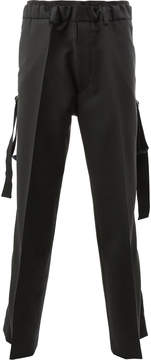 Ports 1961 strap detail trousers