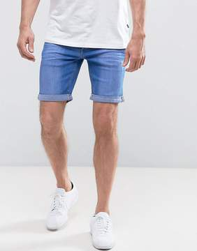 Blend of America Bright Blue Denim Shorts