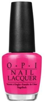 OPI Nail Lacquer Nail Polish, Pompeii Purple.