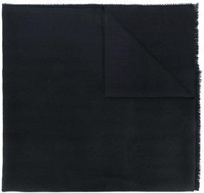 Ermenegildo Zegna jacquard fringe scarf