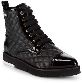 Love Moschino Women's St. Tod Quilted Booties