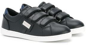 Dolce & Gabbana Kids touch fastening sneakers