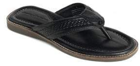 Tommy Bahama Anchors Away Leather Thong Sandals