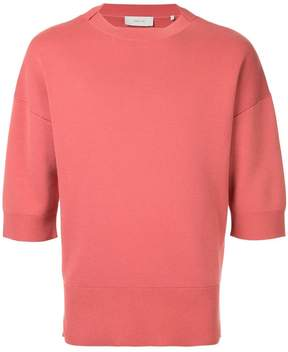 Cerruti cropped-sleeve sweater