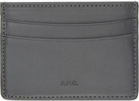 A.P.C. Grey Andre Card Holder