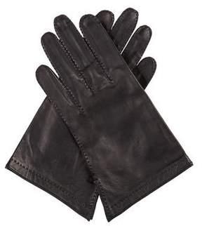 Hermes Leather Short Gloves
