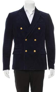 Band Of Outsiders Corduroy Double-Breasted Blazer