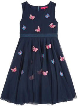 Derhy Kids Embroidered tulle dress