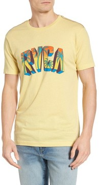 RVCA Men's Block Graphic T-Shirt