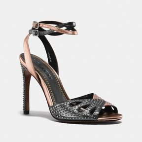 Coach New YorkCoach Heel Sandal With Prairie Rivets