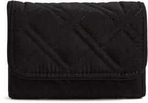 Vera Bradley RFID Riley Compact Wallet - MICROFIBER CARDINAL RED - STYLE